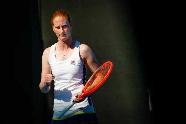 Australian Open - Alison Van Uytvanck sneuvelt in tweede ronde
