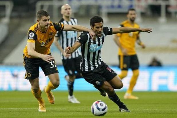 Les Belges à l'étranger - Wolverhampton et Dendoncker arrachent un point à Newcastle