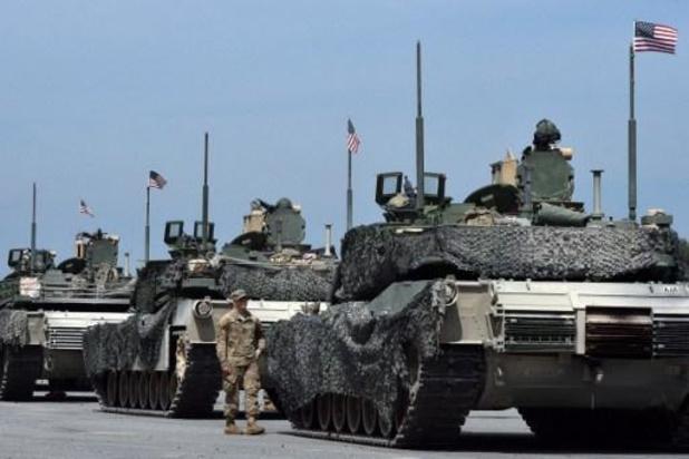 Duitsland tevreden dat Amerikaanse troepen dan toch niet verhuizen