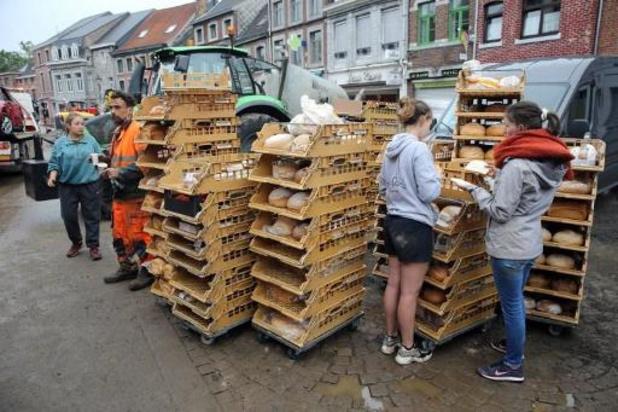 Waals Gewest beheert vanaf midden september de voedselhulp aan de slachtoffers