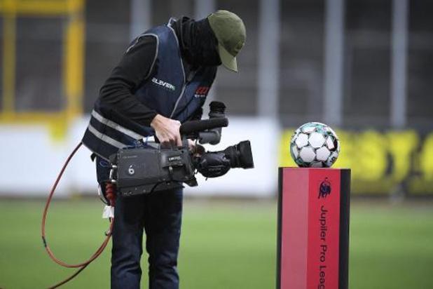 Accord pour une diffusion internationale du foot belge via des plateformes de streaming