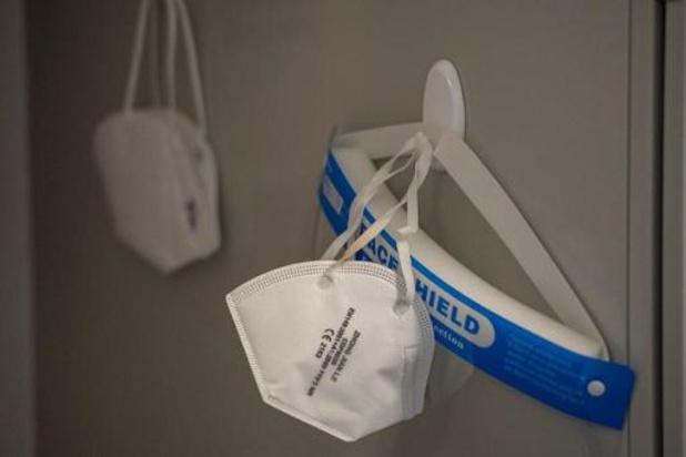 Le masque FFP2 privilégié pour les soignants en contact avec des patients confirmés