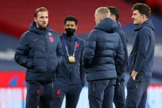 Rode Duivels - Engeland rekent voorin op Kane, Sterling haakt op het laatste moment af