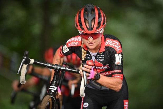 Denise Betsema wint Ethias Cross in Bredene