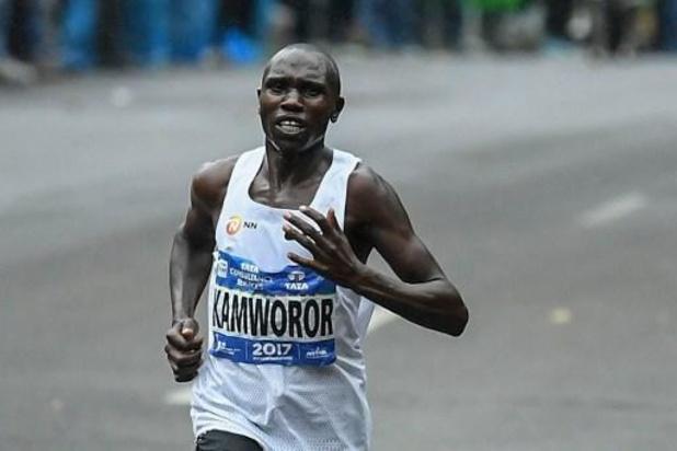 Le Kenyan Geoffrey Kamworor bat le record du monde du semi- marathon