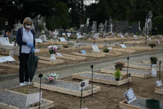Covid: l'Italie a enregistré un nombre record de décès en 2020