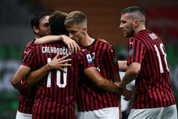 Les Belges à l'étranger - L'AC Milan et Alexis Saelemaekers s'imposent à Sassuolo et se hissent à la 5e place