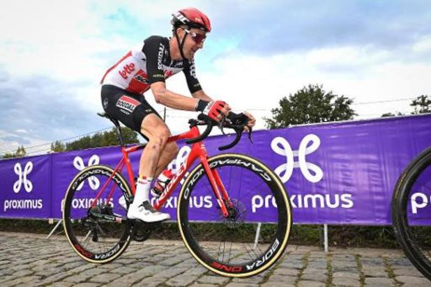 Tim Wellens (Lotto Soudal) gagne la 5e étape, Primoz Roglic reste en tête du Tour d'Espagne