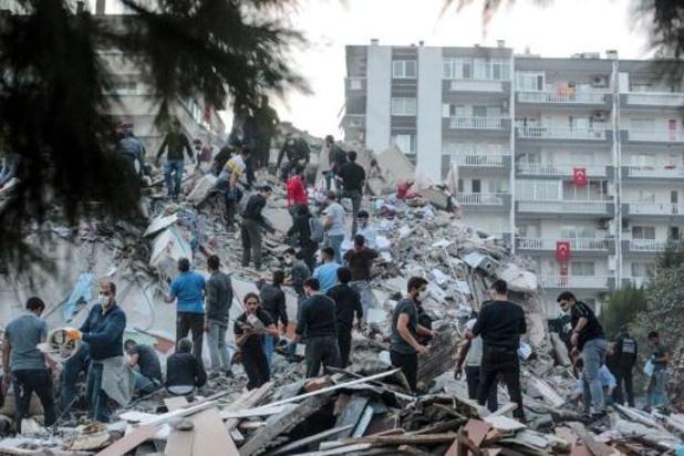 Aardbeving bij Griekse eiland Samos: Balans bijgesteld naar zes doden en meer dan 200 gewonden