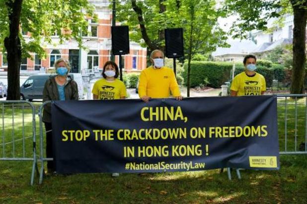 Amnesty International roept namen van petitie af aan Chinese ambassade