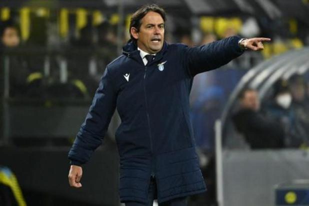 """Le match contre Bruges est une """"finale"""" pour l'entraîneur de la Lazio Simone Inzaghi"""