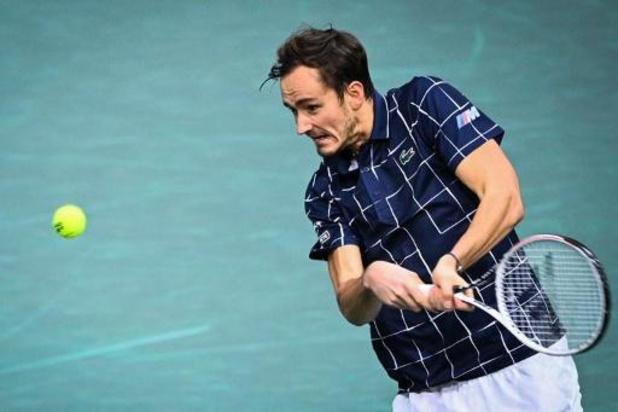 Daniil Medvedev is eerste finalist van Masters-toernooi in Parijs