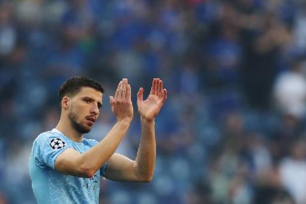 Manchester City breekt contract van Speler van het Jaar Ruben Dias open