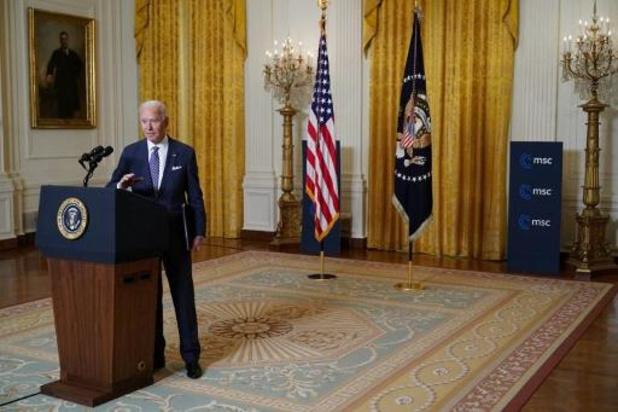 Biden: strijd tussen democratie en autoritarisme op cruciaal punt