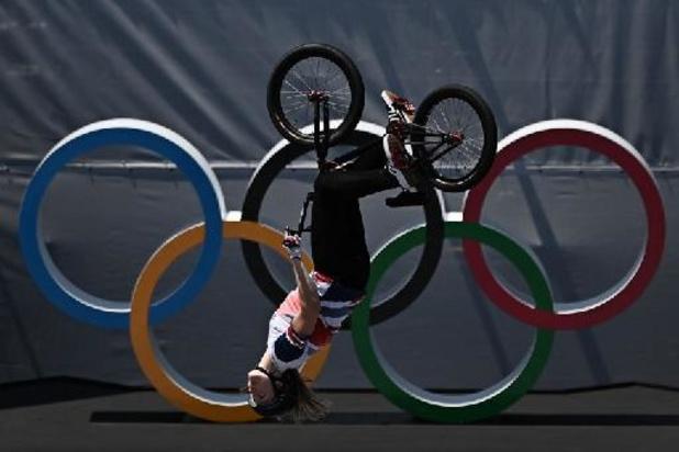 OS 2020 - Logan Martin en Charlotte Worthington zijn eerste olympische BMX freestyle-kampioenen