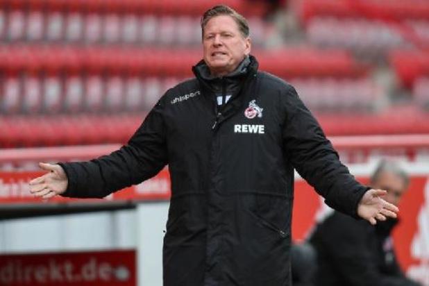 Bundesliga - Keulen ontslaat trainer Markus Gisdol