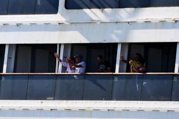 Coronavirus - Cruiseschip Zaandam aangemeerd in Florida