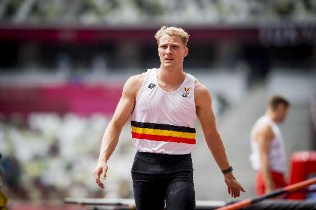 Ben Broeders stelt in thuishaven Leuven Belgisch record polsstokspringen bij