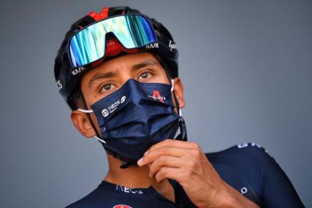 Titelverdediger Bernal start niet meer in 17e Tour-rit