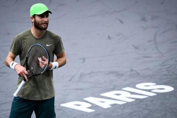 Corentin Moutet positif au Covid-19, écarté du tournoi ATP de Paris
