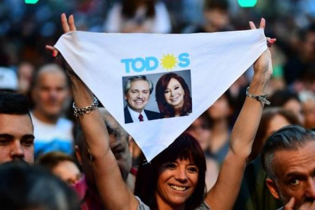 Presidentsverkiezingen Argentinië - Fernandez wint in eerste ronde van Macri