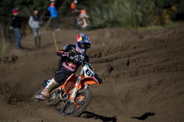 Jorge Prado gagne en MXGP à Lommel, Geerts troisième en MX2