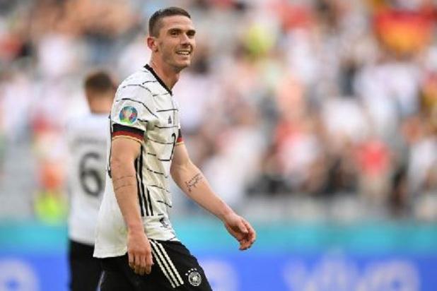 Trois joueurs allemands légèrement blessés mais pas d'inquiétude