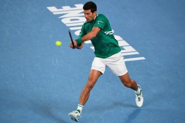 Novak Djokovic se qualifie sans trembler pour le deuxième tour de l'Open d'Australie
