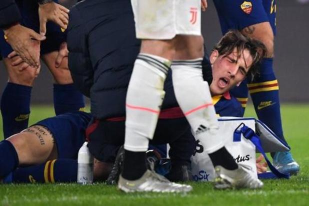 Serie A - Grave blessure et probable fin de saison pour l'international italien de la Roma Zaniolo