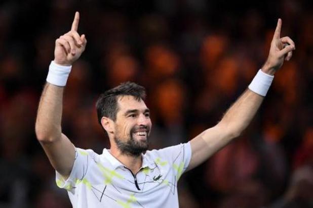 ATP Paris-Bercy - Fin de série pour le Russe Daniil Medvedev, éliminé d'entrée par Jérémy Chardy