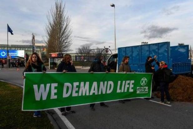 Extinction Rebellion occupe une plateforme gazière en Écosse