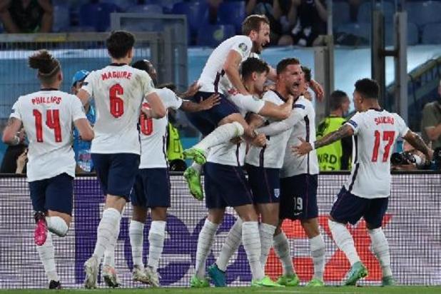 Euro 2020 - L'Angleterre en passe 4 à l'Ukraine et complète le dernier carré