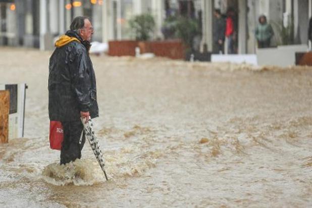Waterpeil in Voeren blijft stijgen: vrees voor dijkbreuken