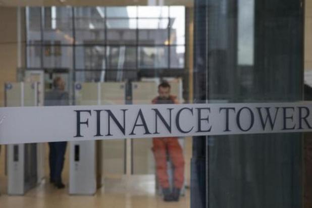 Les mesures de confinement levées à la Tour des Finances à Bruxelles