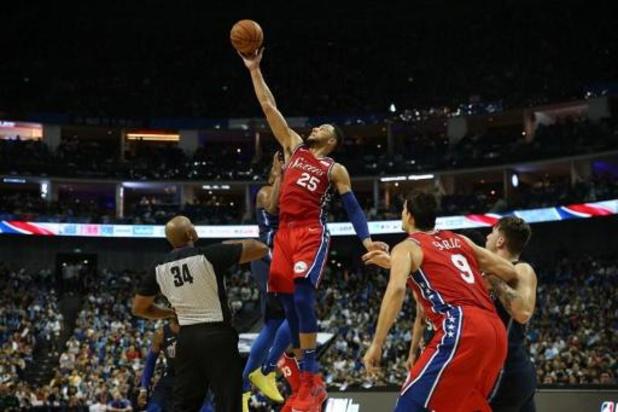 NBA - Philadelphia bevestigt sterke seizoensstart met winst tegen Charlotte