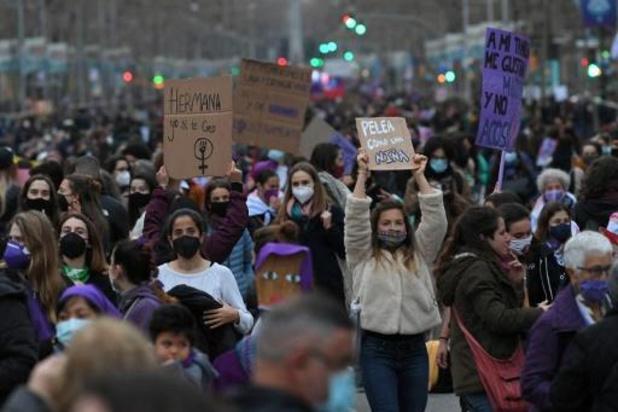 Mobilisations à travers le monde pour la Journée internationale des droits des femmes