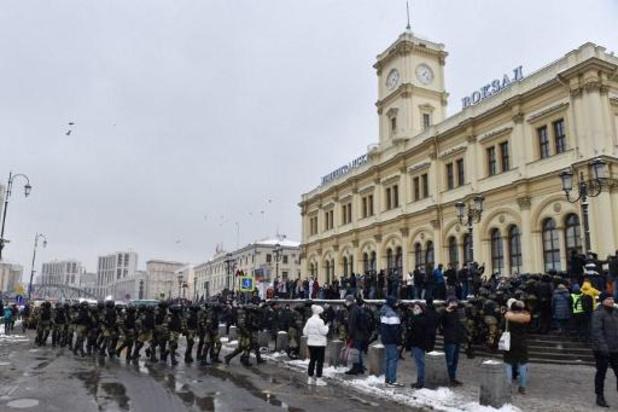Meer dan 1.000 arrestaties bij Navalny-protesten in Rusland