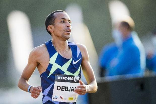 Ismaël Debjani, 7e du 1.500m à Ostrava