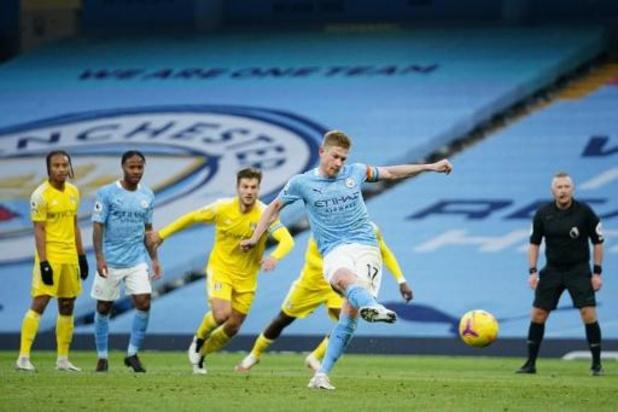 Avec un but et un assist de Kevin De Bruyne, Manchester City dispose de Fulham