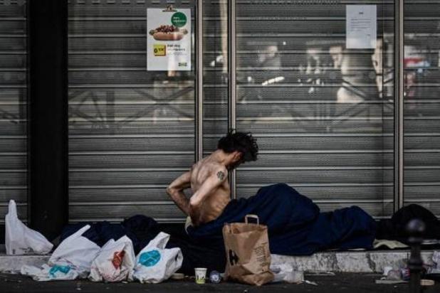 Le nombre de personnes sans-abri a augmenté de 70% dans l'UE ces dix dernières années