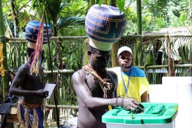 Eiland Bougainville stemt voor onafhankelijkheid van Papoea-Nieuw-Guinea