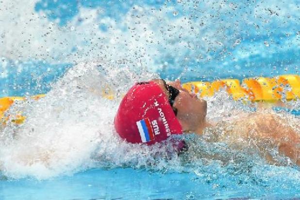 Euro de natation - Kolesnikov améliore encore son record du monde du 50 m dos