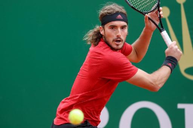 ATP Monte Carlo: Stefanos Tsitsipas wacht David Goffin op in halve finale