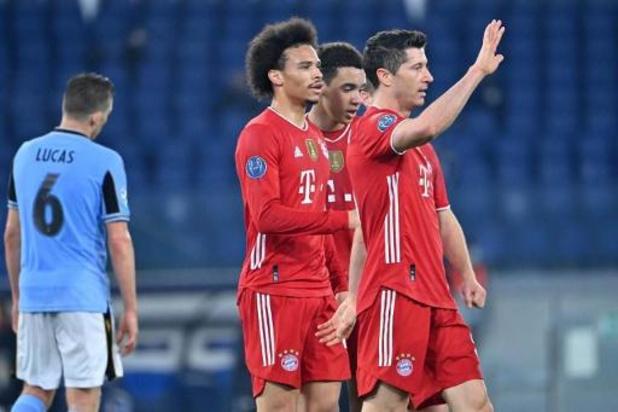 Ligue des Champions - Le Bayern retrouve la forme à la Lazio (1-4) et Chelsea surprend l'Atletico Madrid