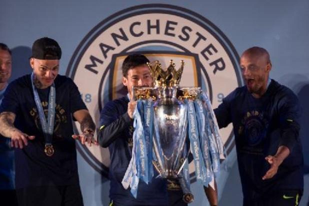 Manchester City onthult zaterdag standbeelden voor Kompany en Silva