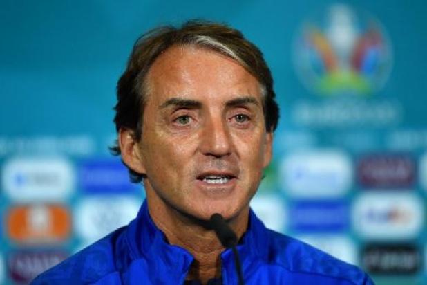 Italiaanse bondscoach Mancini wil tegen Duivels eigen spel spelen