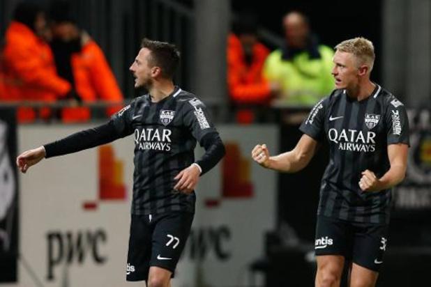 Jupiler Pro League - Eupen en Oostende houden de punten thuis, Cercle staat dichtbij 1B