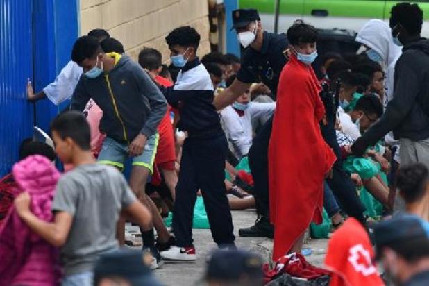 Ceuta: près d'un millier de migrants mineurs sont toujours dans l'enclave espagnole