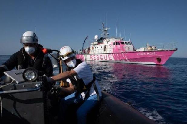 Dode aan boord van reddingsschip Banksy