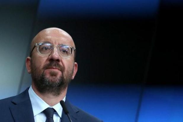 """Charles Michel convoque un sommet """"physique"""" extraordinaire les 17 et 18 juillet"""